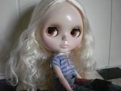 Alice side eyes.