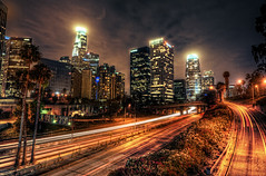 LA at Night (Cliff_Baise) Tags: