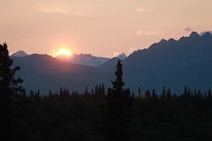 "Sunset at Denali • <a style=""font-size:0.8em;"" href=""http://www.flickr.com/photos/74478728@N08/7778886948/"" target=""_blank"">View on Flickr</a>"
