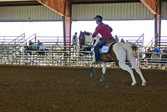 7-17 Barrel 229 (uacescomm) Tags: arkansas searcyarkansas whitecountyfairgrounds 2012arkansasstate4hhorseshow