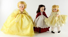 2040. Group of (3) Madame Alexander Dolls