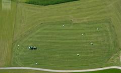 agriculture (desomnis) Tags: trip green grass canon eos flying farming flight agriculture greenfield canoneos350d eos350d oberösterreich aerialperspective upperaustria mühlviertel birdseyeperspective sightseeingflight desomnis