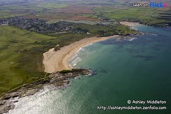 Constantine Bay & Treyaron Bay (Ashley Middleton Photography) Tags: ocean county sea colour beach water coast town cornwall waves sandy relaxing aquamarine curved atlanticocean sunbathing description activities clearwater holidaycamp constantinebay celticsea treyaronbay
