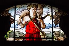 De Goede Herder (Bert (A.H.) Roos) Tags: italy holiday building church vakantie italia culture event piedmont kerk glasinlood gebouw itali varzo