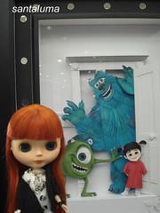 Aisha e os monstros!!