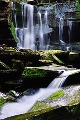 Upper Elakala Falls (Elakala #1) Part 2 (Lindeberg Feller) Tags: park longexposure summer west fall water ed virginia waterfall nikon state run falls upper wv nikkor blackwater vr afs shays d800 f4g  24120mm  elakala