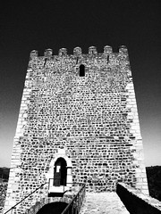the tower in B&W (ccgd) Tags: vacation holiday portugal ruth calum sapin 2012 iberia ccgd