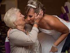 The OM-D at a Wedding Reception: Whispered Words (Entropic Remnants) Tags: pictures wedding photography photo image photos pics candid michelle picture pic olympus images reception photographs photograph michele todd weddings f18 45mm remnants omd medley entropic jorgensen mzd em5 fl36r mzuiko