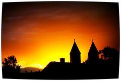 Feliz Quarta Sunset !! Happy Wednesday Sunset! (maj-lis) Tags: sunset lund skne sweden sverige somewhere semester solnedgng kyrktorn holidaymemories quartasunset