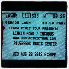 Time for some @linkinpark @m_shinoda #Cincinnati