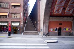 bike (f x d b b b t) Tags: travel summer streets europe fuji sweden stockholm bikes fujifilm sthlm 2012 x100