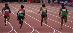 Women's 100m, Round1 Heat3 #2 (Julian Morley) Tags: london athletics gloria veronica olympics colley 2012 100m campbellbrown yomara saruba hinestroza 3aug2012 asumnu
