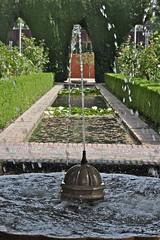Fountain, Alhambra (Al 72) Tags: fountain spain andalucia alhambra moorish granada 2012 espania jardinesdelpartal