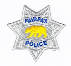 CA - Fairfax Police Badge