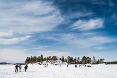 Inari (fernando garca redondo) Tags: lake ice finland lago inari artic hielo finlandia rtico lagohelado
