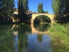 #trillo #rio #tajo #guadalajara #reflejos #landscape #reflexiona #puente #bridge (Kirikob12) Tags: landscape river trillo iphone instagramapp square squareformat iphoneography