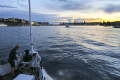 Norrskr p vg in mot Stockholm (Anders Sellin) Tags: bt hav skrgrd sverige sweden vatten archipelago baltic boat sea sj stockholm water stersjn skrgrd svartlga bt sj stersjn