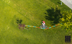 Slackline_bicycle (KomiKite) Tags: vicceskap komi komikite komikitehu kite kiteaerialphotography kap slackline bycicle biciklis kerkpros f kopaszigt ktltnc aerial aerialview aerialphotography aerialphoto aerialbudapest aerials lgifot lgifotzs luftbildphotography humor paprsrkny pipas papalotes pipa pest budapest buda budapestaerials kiteaerialhungary paprsrknyoslgifot selfie