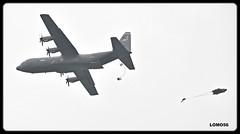 Lockheed C-130J Super-Herkules (LOMO56) Tags: lockheedc130e c130ehercules c130e usafe usairbaseramstein natobung luftlandeoperationen flugplatzbitburg bitburg bitburgerland