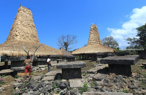 Sumba Traditional house in Wai Tarung