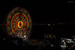 DSC00256 (EnnyKoeva) Tags: ferris wheel nessebar bulgaria circus night lights