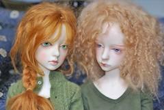 Sophie & Zelda (stashraider) Tags: dollstown