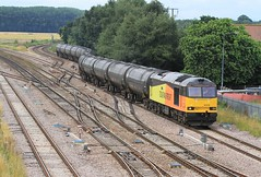 60076 Hadfield & Stainforth (DieselDude321) Tags: 60076 class 60 6e32 0855 colas ribble rail lindsey oil refinery hadfield stainforth