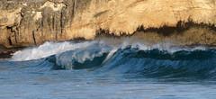 The wave (marko.erman) Tags: hawaii island pacific beach sun landscape pov travel sony ocean sea shape extrieur paysage plage rivage littoral mer kauai rocks wave water drops shore