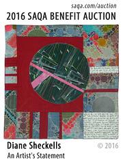An Artist's Statement by Diane Sheckells (saqaart) Tags: artquilts saqa fiberart quilts textiles artwork stitched layered