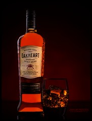 Oakheart rum (www.s999.co.uk) Tags: oakheart rum product studio999 wwws999couk red 90s jakubpyrdek sanches90s jakub pyrdek s999product studio999product studio light