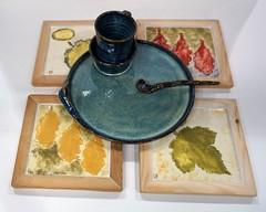 """""""Dejeuner sur L'Herbe"""" by Iain Markham (Christine Cox @ potfest) Tags: dinnerforone potfestinthepens penrith cumbria pottersmarket ceramic"""
