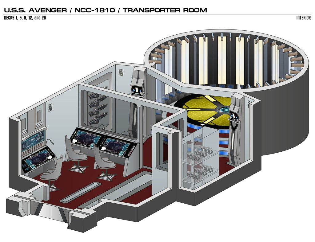 The Worlds Best Photos Of Schematic And Startrek Flickr Hive Mind Star Trek Engineering Schematics Transporter Constitution Avenger Fadmvulcan Tags Interior Isometric Drawing Illustration