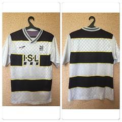 RARE Darlington FC ENGLAND 1989/1990/1991 home #FOOTBALLSHIRT JERSEY #MAGLIA (sharov.ivan) Tags: footballshirt maglia