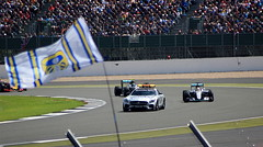 Drying Up (6079 Jones,P) Tags: formula one f1 british grand prix silverstone car racing auto motorsport safety mercedes sls nico rosberg lewis hamilton amg w07 hybrid wet tyres stowe corner