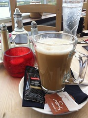 8013 Coffee Latte at the Trecastell Hotel (Andy panomaniacanonymous) Tags: 20160810 ccc coffeecup coffeelatte cymru lll mmm mug photostream trecastellhotel wales ynysmon