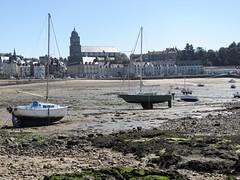 Saint-Malo (Erwin Schoonderwaldt) Tags: bretagne brittany seagrass boats lowtide