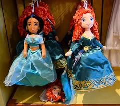 Disneyland Visit 2016-08-21 - Downtown Disney - World of Disney - Reversible Jasmine/Merida Soft Doll (drj1828) Tags: us disneyland dlr anaheim california visit 2016 downtowndisney worldofdisney