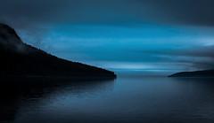 foggysweden4b (torivonglory) Tags: alivingdog sweden schweden road strase reise travel journey fjords lake fjorde seen nebel fog woods wlder forest clouds wolken blue blau nature natur beautiful schn