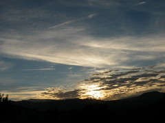 Sunrise (rospix+) Tags: rospix 2016 august wales uk nature countryside sky sunrise dawn clouds hills