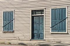 Huguenot Society offices (doddsjzi) Tags: building shutters boardedup peelingpaint rot huguenotsocietyoffice charlestonsc