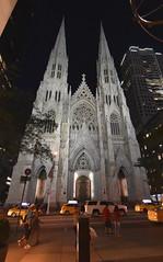 NYC by night (ikimuled) Tags: nyc newyork newyorkcity manhattan notturni notte luceambiente amanolibera chiese