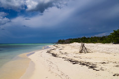 Cayo Levisa (Nature photo - Caroline) Tags: plage sable mer calme ilot paradisiaque nuage cuba