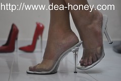 Dea-Honey-sexy-high-heel-High-Heeled-Sandals-28-My-5-inch-sexy-high-heel-sandal (deahoney) Tags: sexy high heel feet fetish stocking toes