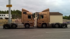 Finland Trucks (engels_frank) Tags: ntc transport mercedes actros finnland suomi naantali finnlines ferry fhre lastwagen lkw trucks rekka camion land aland scania volvo ahola strm savikko renault gigaliner eurocombi vak
