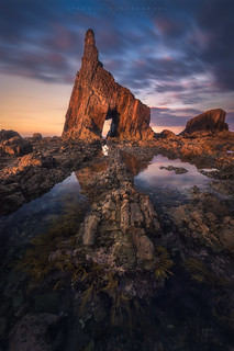 Campiecho Beach (Asturias, Spain)