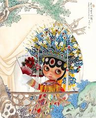 Peking Opera The Drunken Beauty.