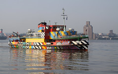 Liverpool 054 (mitue) Tags: liverpool rivermersey ferry fhre peterblake nks