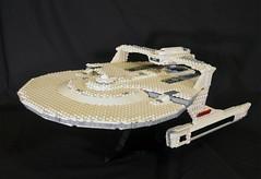 DSC_4725 (jonmunz) Tags: lego star trek spaceship uss reliant starship wrath khan