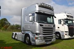 Scania R730 reg MH08 ANS (erfmike51) Tags: scaniar730 artic truck lorry swedefest2016 v8