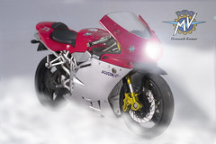 F4_02 (shemanthkumar) Tags: d3100 nikon motorcycle toy superbike mv augusta f4 bike 2 two wheeler wheels light headlight headlamp beam fog racer indoor studio photography hemanth kumar